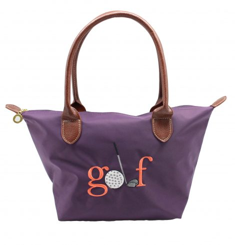 A photo of the Golf Nylon Tote In Purple product