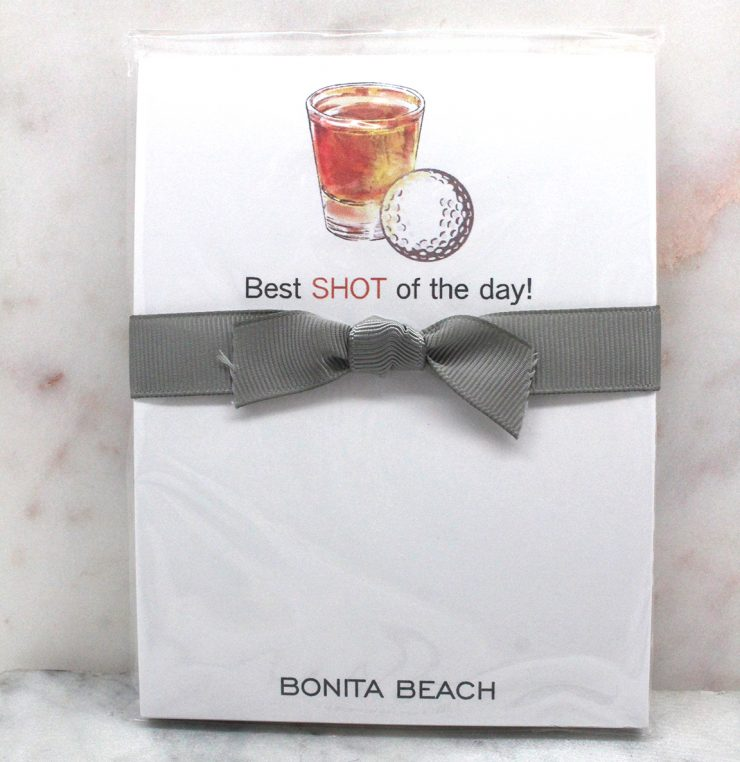 A photo of the Shot of The Day Note Pad product
