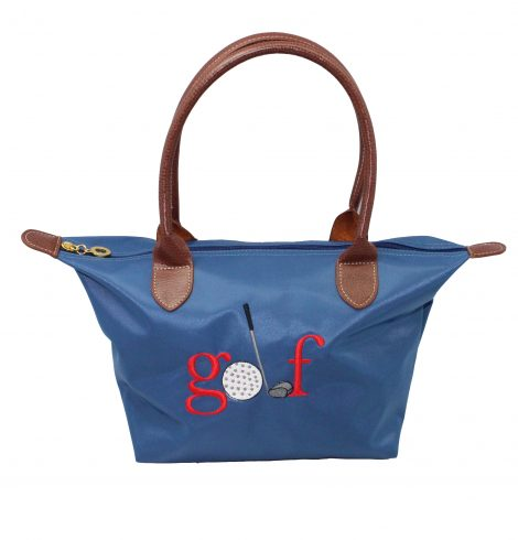 A photo of the Golf Nylon Tote In Blue product