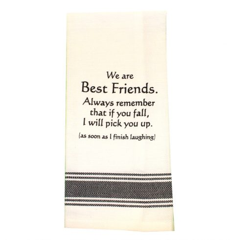 A photo of the Best Friends Towel product