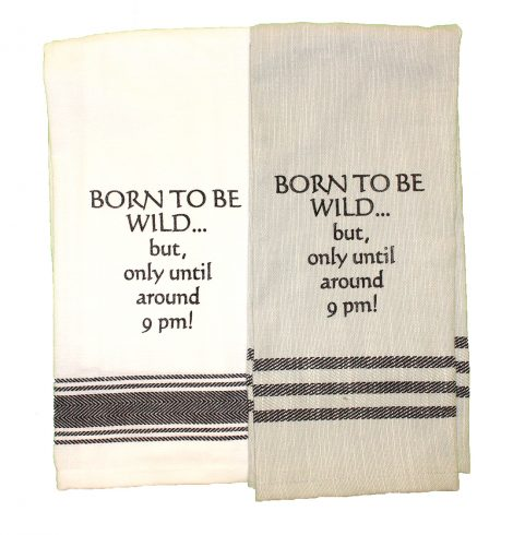 A photo of the Born To Be Wild Towel product