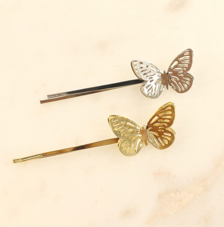 A photo of the Butterfly Bobbi Pin product