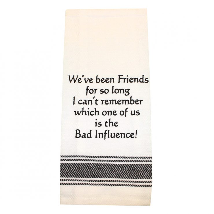 A photo of the Friends So Long Towel product