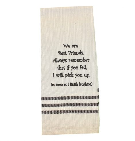 A photo of the If You Fall Towel product