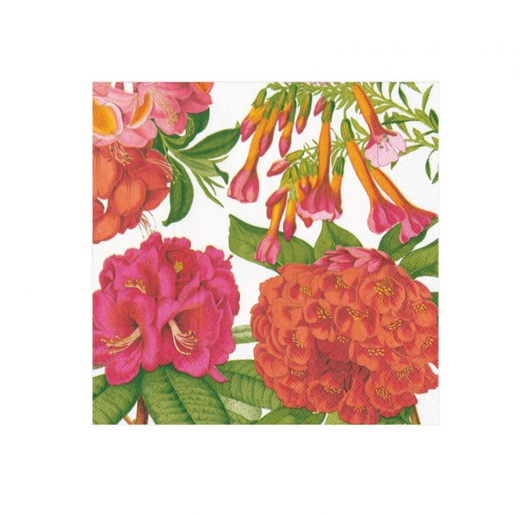 A photo of the Jefferson's Garden Study Napkins In White product