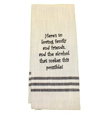 A photo of the Loving Family Towel product