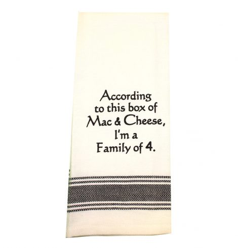 A photo of the Mac and Cheese Towel product