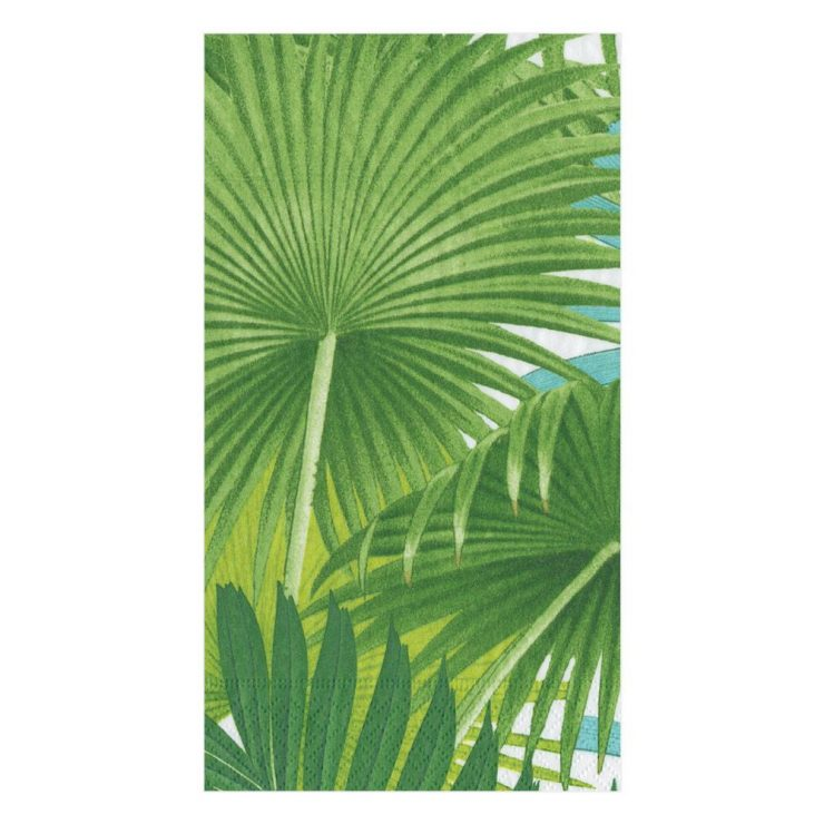 A photo of the Palm Fronds Paper Guest Napkins product
