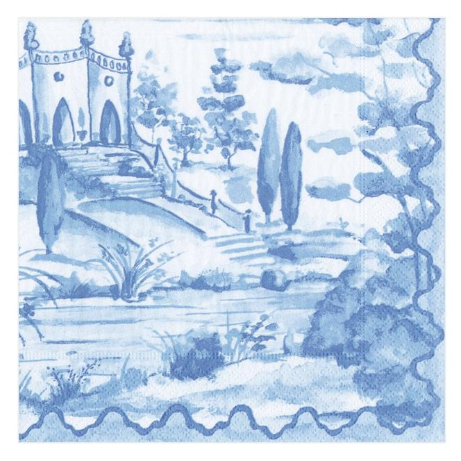 A photo of the Tuscan Toile Napkins product