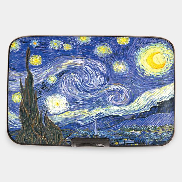 A photo of the Armored Wallet in The Starry Night product