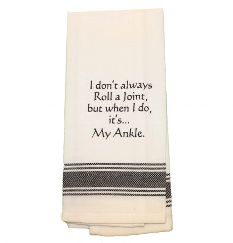 A photo of the Roll a Joint Towel product