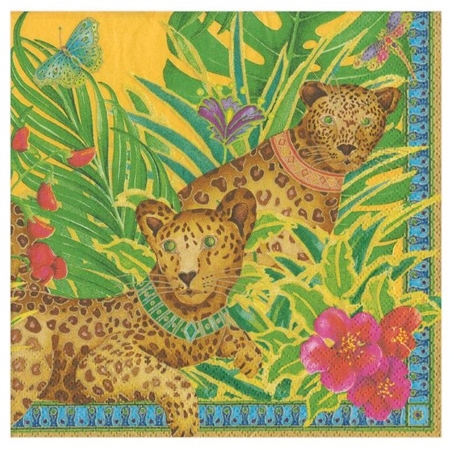 A photo of the Leopard Napkins product