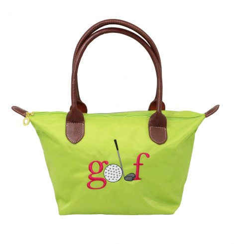 A photo of the Golf Nylon Tote In Green product