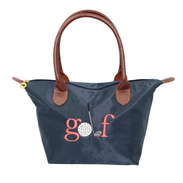 A photo of the Golf Nylon Tote In Navy product