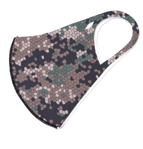 A photo of the Matrix Camouflage Face Mask product
