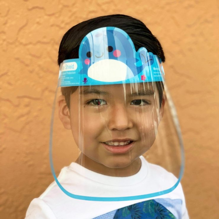 A photo of the Children's Face Shield product