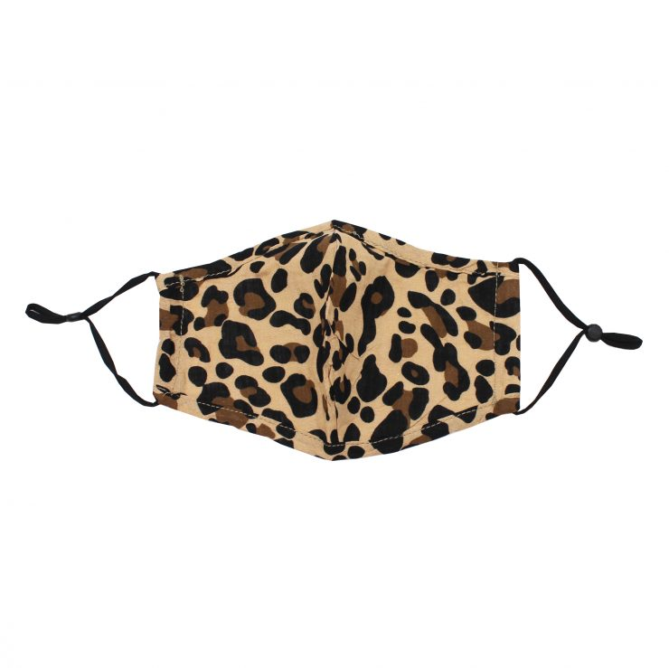 A photo of the Lovely Leopard Face Mask product