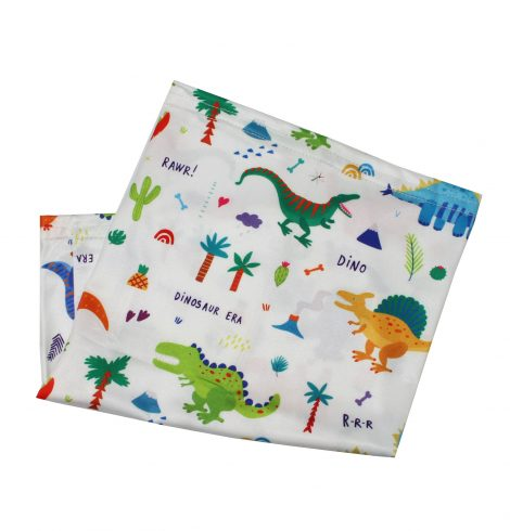 A photo of the Children's Neck Gaiter In Dino Friends product