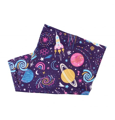 A photo of the Children's Neck Gaiter In Lost In Space product