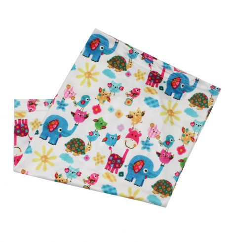 A photo of the Children's Neck Gaiter In Animal Parade product
