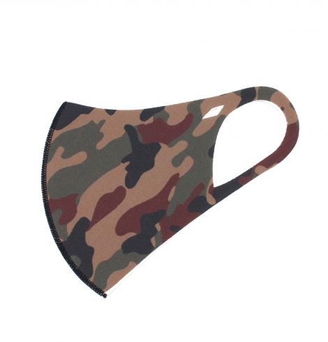 A photo of the Camo Face Mask product