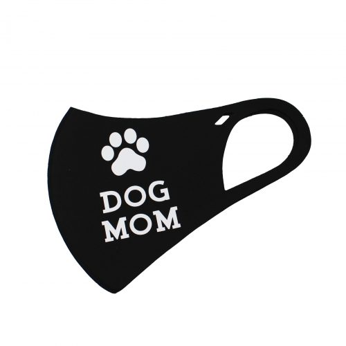 A photo of the Dog Mom Face Mask product