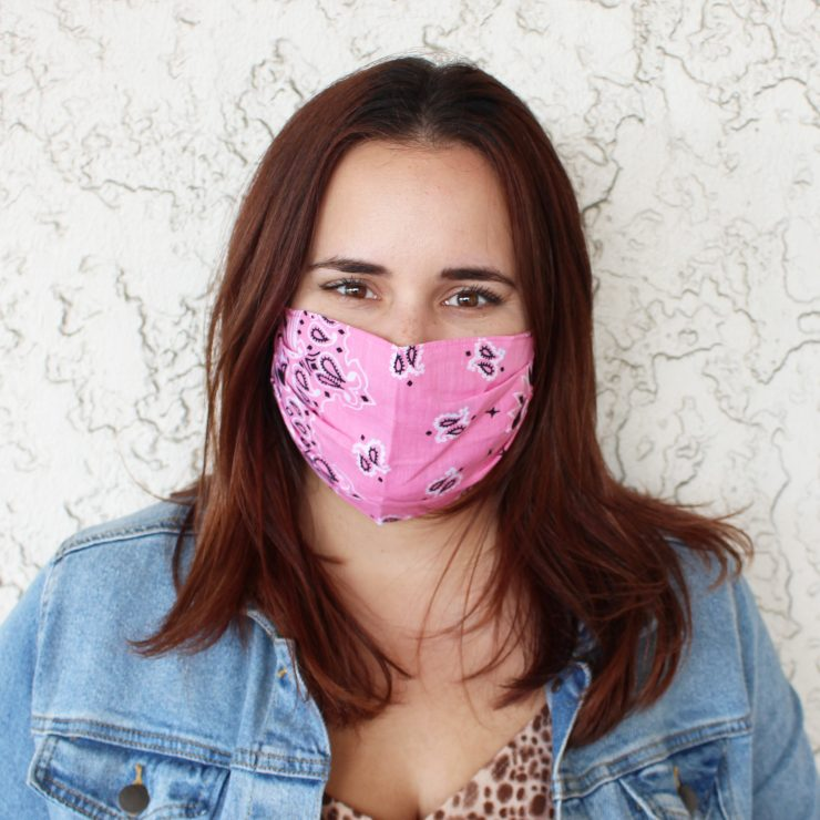 A photo of the Bandana Face Mask product