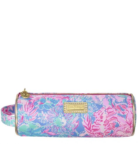 A photo of the Pencil Pouch in Viva La Lilly product