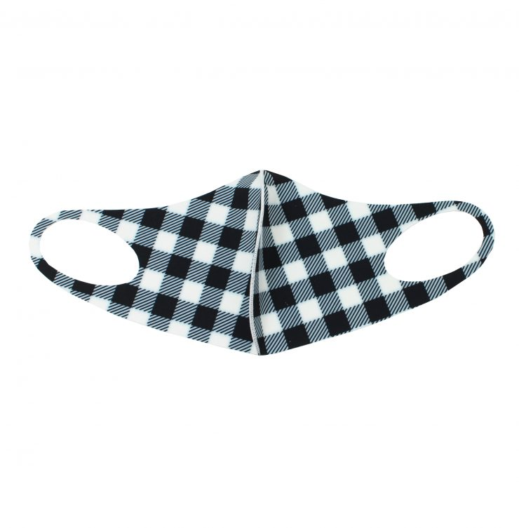 A photo of the Buffalo Check Face Mask product