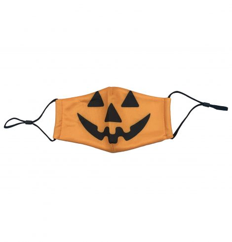 A photo of the Kids' Jack-O-Lantern Face Mask product