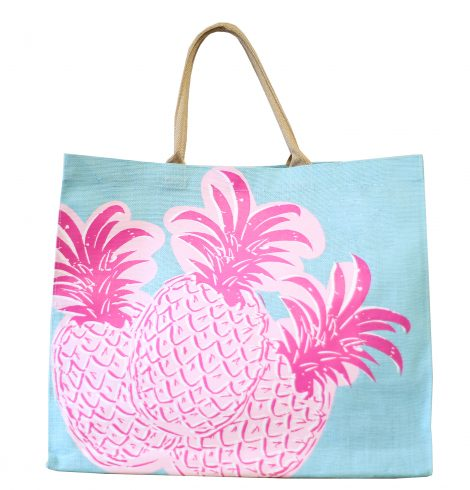 A photo of the Pineapple Carryall Tote product