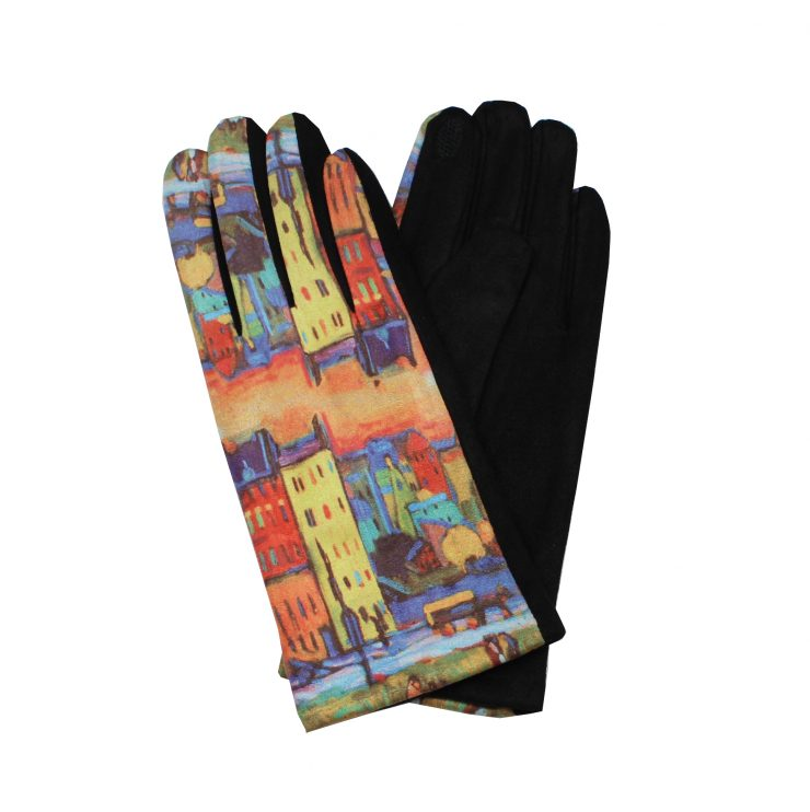 A photo of the Buildings Painting Gloves product