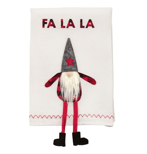 A photo of the Dangle Leg Gnome Towel product