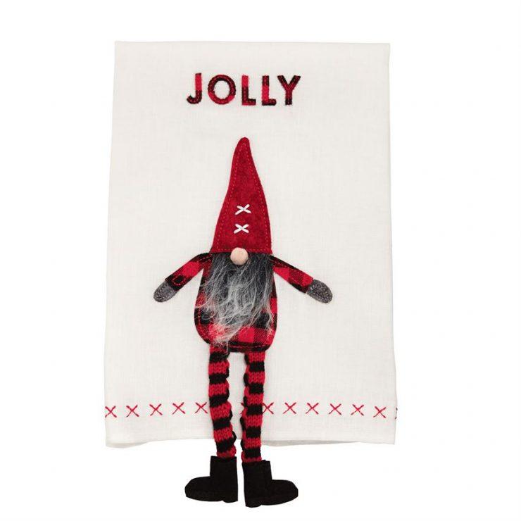 A photo of the Dangle Leg Gnome Towel product