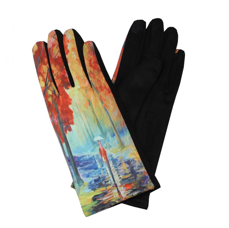 A photo of the Colorful Rainforest Gloves product