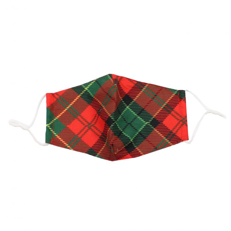 A photo of the Holiday Tartan Face Mask product