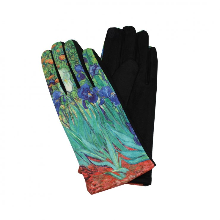 A photo of the Iris Flower Gloves product