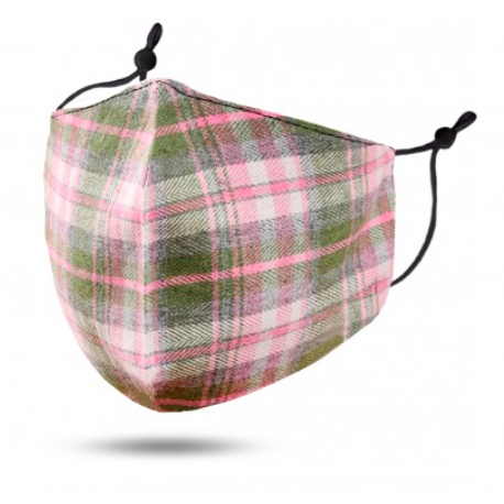 A photo of the Red Plaid Face Mask product