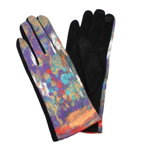 A photo of the Purple Watercolor Gloves product