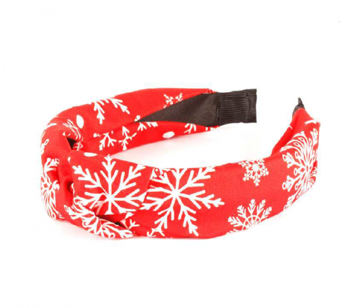 A photo of the Snowflake Headband product
