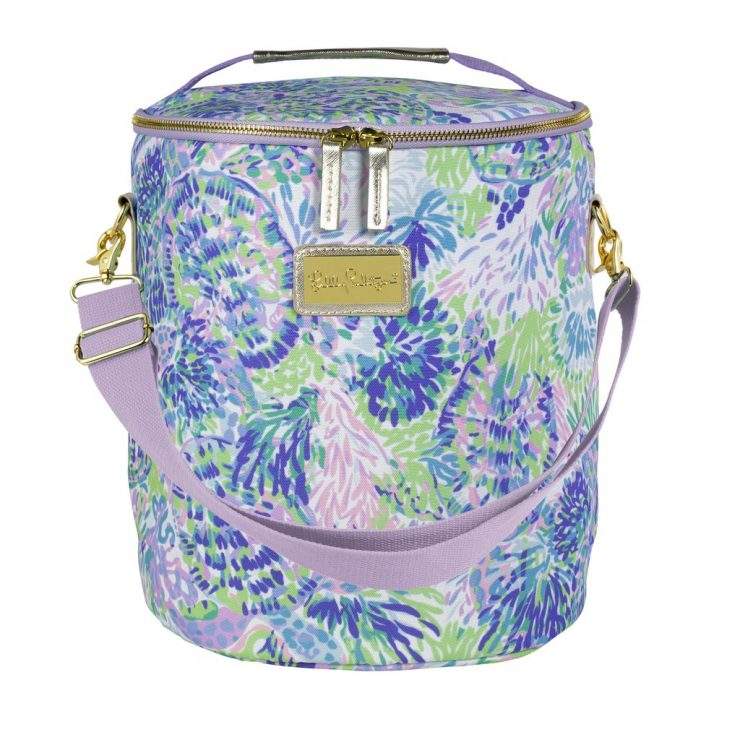 A photo of the Lilly Pulitzer Beach Cooler In Shell of a Party product