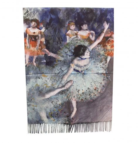 A photo of the Dancing Ballerina Reversible Scarf product