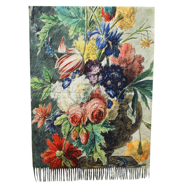 A photo of the Elegant Arrangement Reversible Scarf product