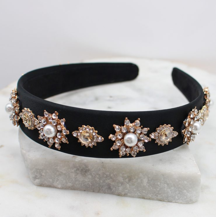 A photo of the The Classy One Headband product