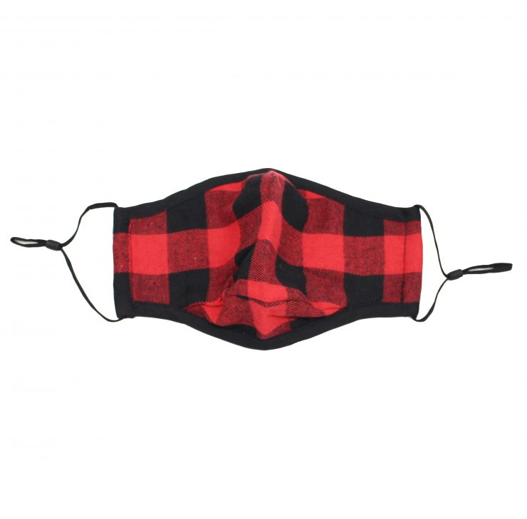 A photo of the Plaid Face Mask product
