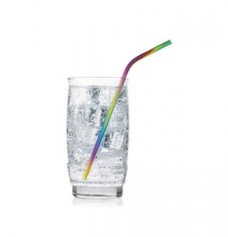 A photo of the Rainbow Drinking Straws product