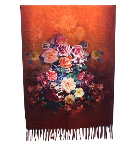 A photo of the Rosa Reversible Scarf product