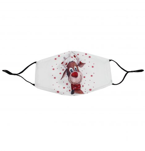 A photo of the Rudolph Face Mask In White product