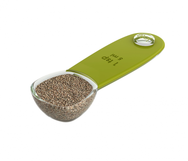 A photo of the 5 Piece Measuring Spoons product