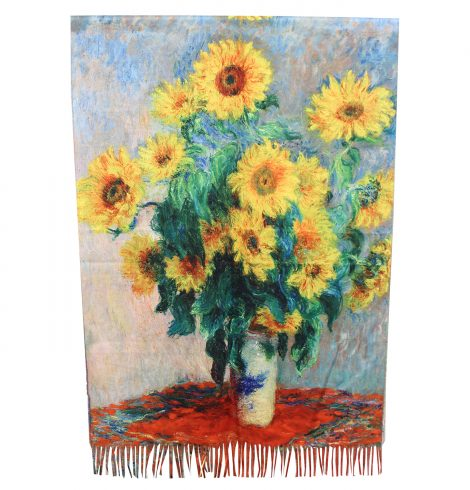 A photo of the Sunflower Dreams Reversible Scarf product